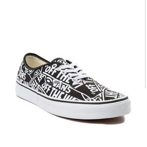 Vans Authentic Off The Wall Logo Shoes